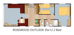 ROSEWOOD OUTLOOK 35x12 2 Bed