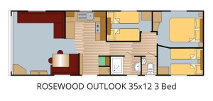 ROSEWOOD OUTLOOK 35x12 3 Bed